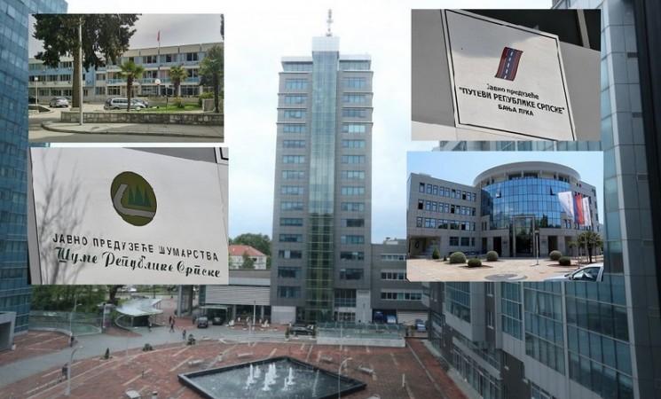 Javna preduzeća u Srpskoj kreditno nesposobna